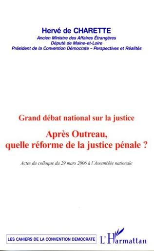 Couverture Grand débat national sur la justice