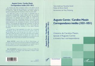 Couverture Auguste Comte / Caroline Massin