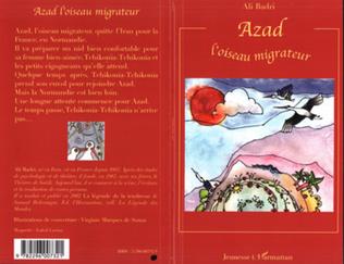 Couverture Azad l'oiseau migrateur