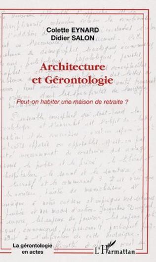 Couverture Architecture et gérontologie