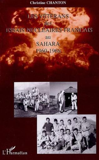Couverture Les vétérans des essais nucléaires français au Sahara