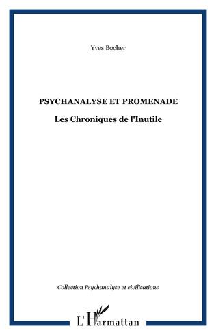 Couverture Psychanalyse et promenade