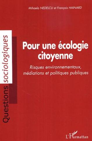Couverture Pour une écologie citoyenne