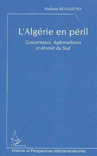 Couverture L'Algérie en péril