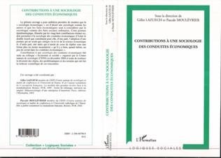 Couverture Contributions à une sociologie des conduites économiques
