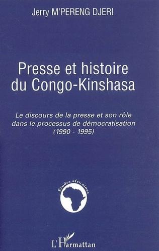 Couverture Presse et histoire du Congo-Kinshasa
