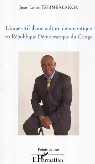 Couverture L'impératif d'une culture démocratique en République Démocratique du Congo