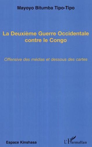 Couverture La Deuxième Guerre Occidentale contre le Congo