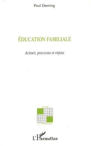 Couverture Education familiale