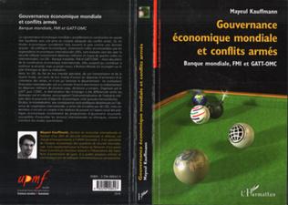 Couverture Gouvernance économique mondiale et conflits armés