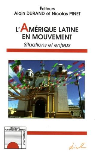 Couverture L'Amérique latine en mouvement