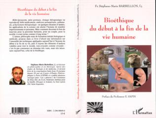 Couverture Bioéthique du début à la fin de la vie humaine