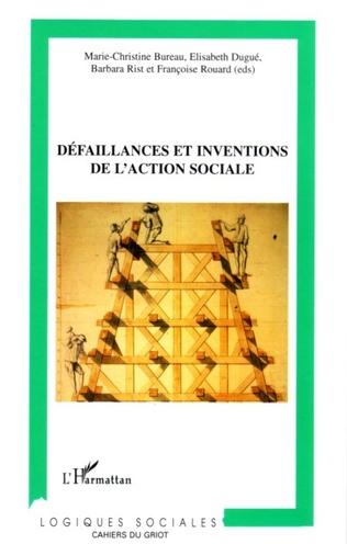 Couverture Défaillances et inventions de l'action sociale