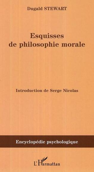 Couverture Esquisses de la philosophie morale (1793-1826)