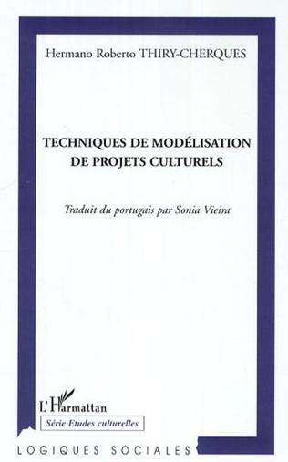 Couverture Techniques de modélisation de projets culturels