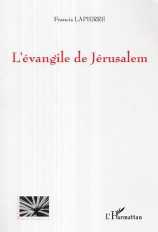 Couverture L'évangile de Jerusalem