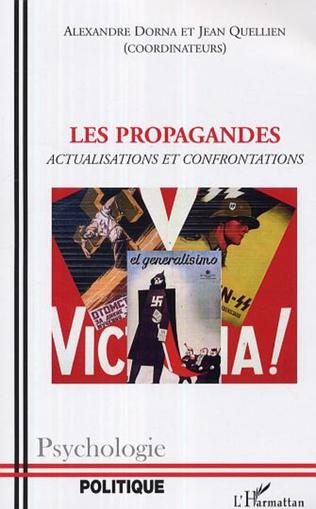Couverture Les propagandes