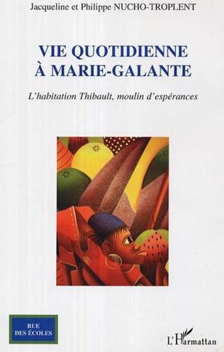 Couverture Vie quotidienne à Marie-Galante