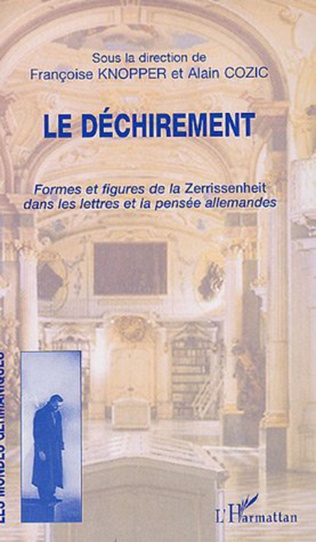 Couverture L'oxymore, figure du déchirement : l'orgue juif de ludwig winder