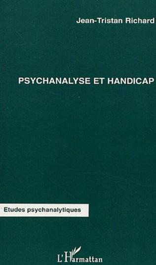Couverture Psychanalyse et handicap