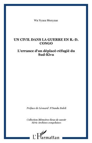 Couverture Un civil dans la guerre en R.-D. Congo