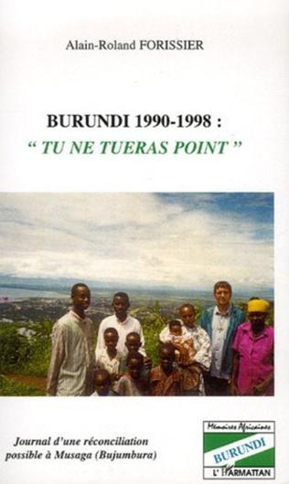 Couverture Burundi 1990-1998