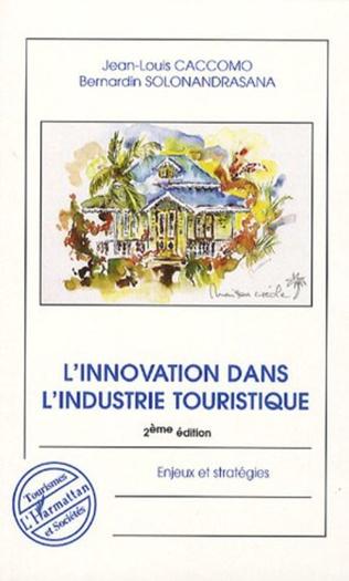 Couverture L'innovation dans l'industrie touristique