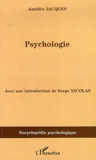 Couverture Psychologie