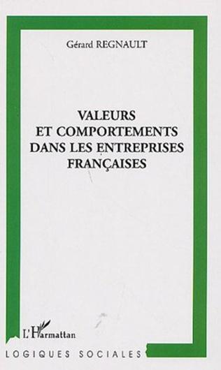Couverture Valeurs et comportements dans les entreprises françaises