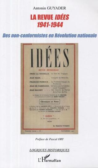 Couverture La revue Idées (1941-1944)