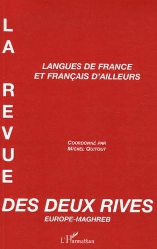 Couverture Langues de France et français d'ailleurs