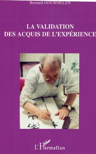 Couverture La validation des acquis de l'expérience