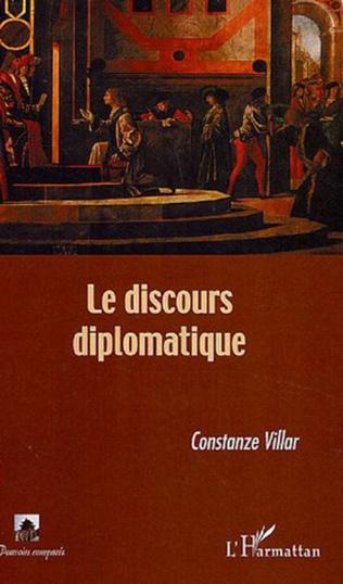 Couverture Le discours diplomatique