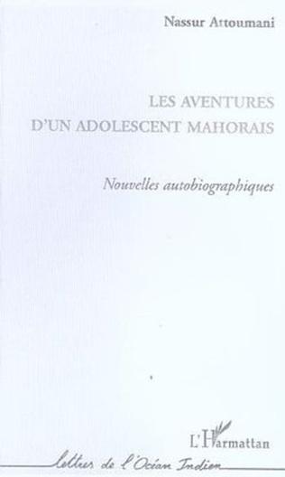 Couverture Les aventures d'un adolescent mahorais