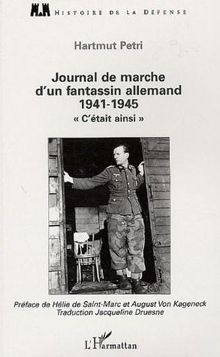 Couverture Journal de marche d'un fantassin allemand (1941-1945)