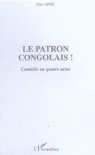 Couverture Le patron congolais!