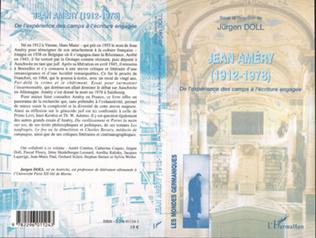 Couverture Jean Améry (1912-1978)