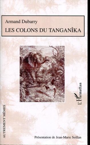 Couverture Les colons du Tanganîka