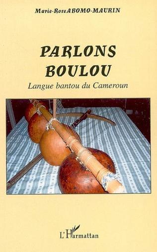 Couverture Parlons Boulou