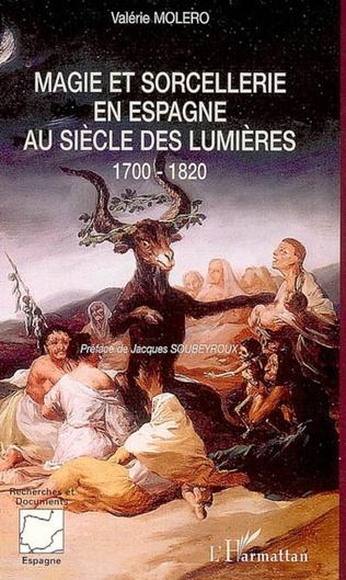 Couverture Magie et sorcellerie en Espagne au siècle des Lumières