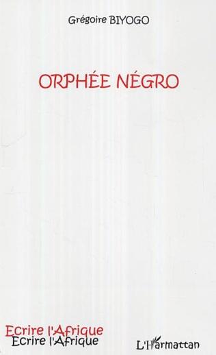 Couverture Orphée Négro