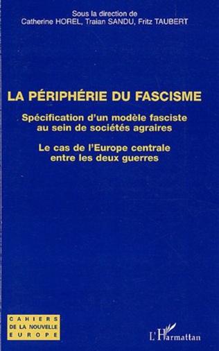 Couverture La périphérie du fascisme