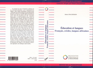 Couverture Education et langues