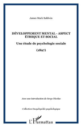 Couverture Développement mental - Aspect éthique et social