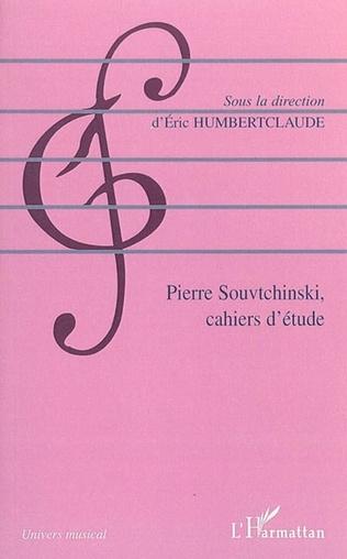 Couverture Pierre Souvtchinski (1892-1985)