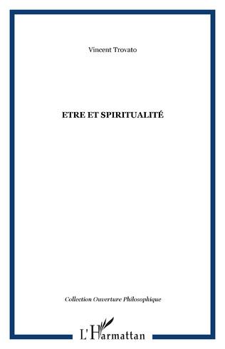 Couverture Etre et spiritualité