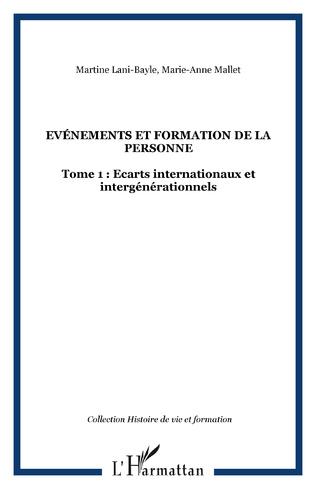 Couverture Evénements et formation de la personne