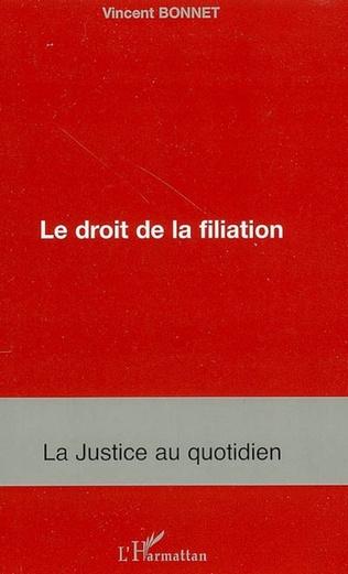 Couverture Le droit de la filiation