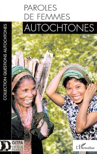 Couverture Paroles de femmes autochtones