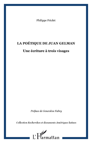 Couverture La poétique de Juan Gelman